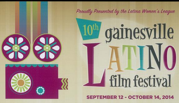 Gainesville Latino Film Festival poster (2014)