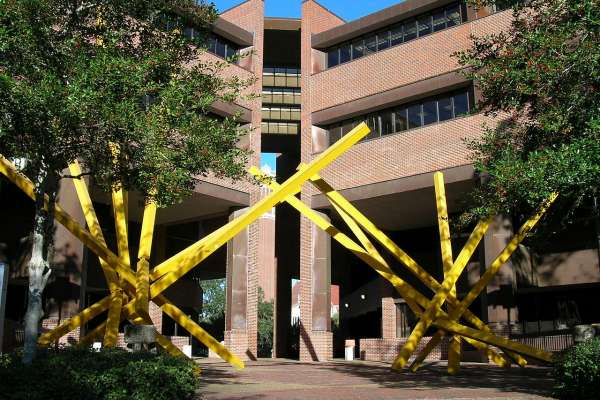Marston Science Library 'French Fries' sculpture