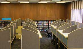 AFA Library study carrel