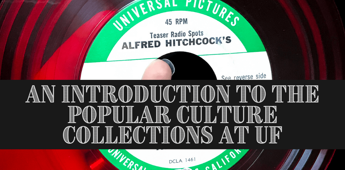 Introduction to Popular Cilture Collections graphicPop Culture Collections