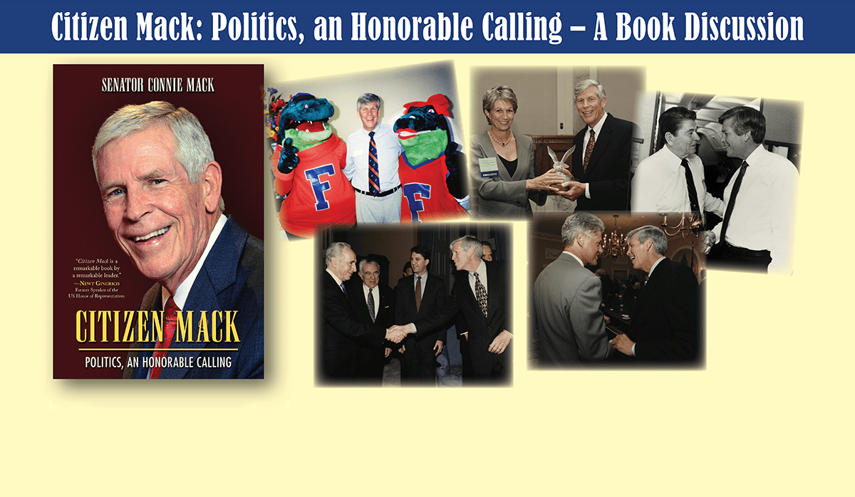 A photo collage of Connie Mack
