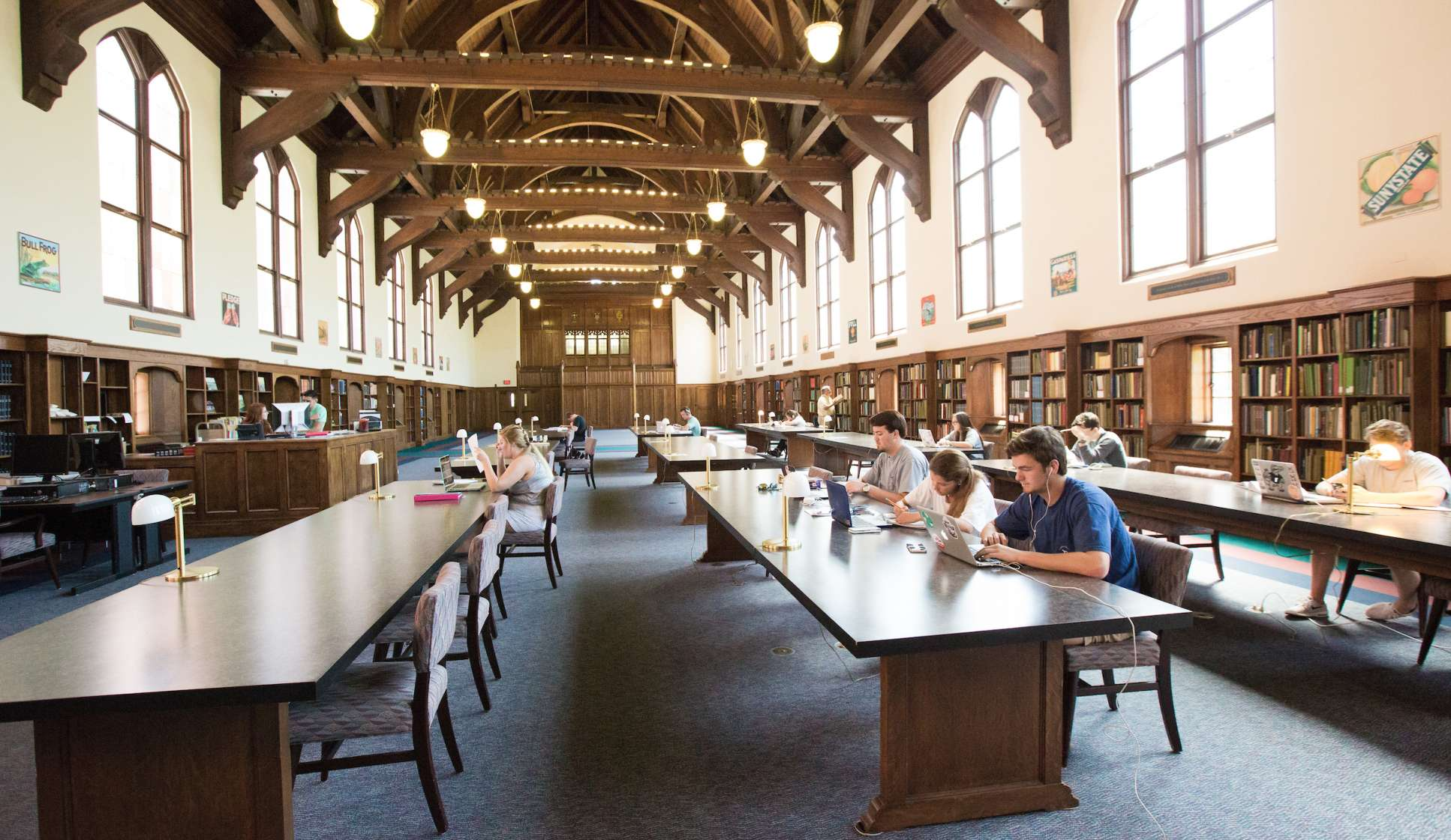 Grand Reading Room in Special Collections
